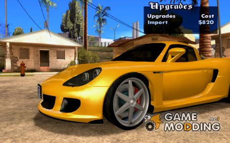 Wheels Pack NFSPS II для GTA San Andreas