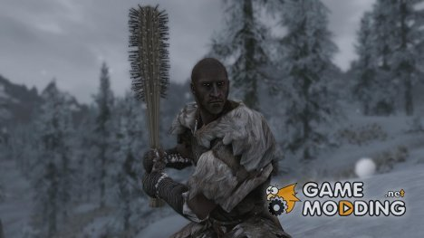 RANs Round HairBrush для TES V Skyrim