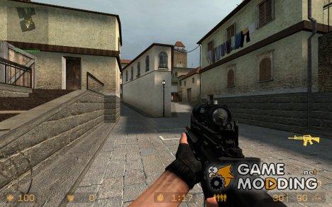 M4 Carabine W/acog  Reskin New Metal for Counter-Strike Source