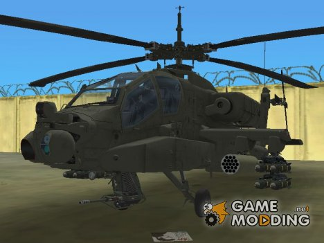 AH-64A Apache for GTA Vice City