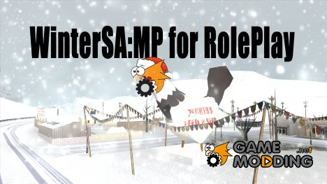 WinterSA:MP for RolePlay для GTA San Andreas