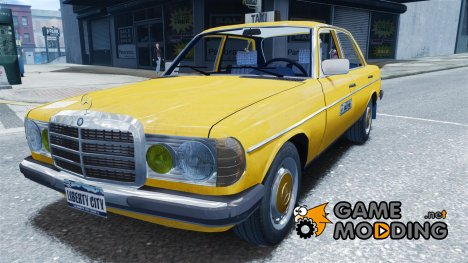Mercedes-Benz 230 E Taxi for GTA 4