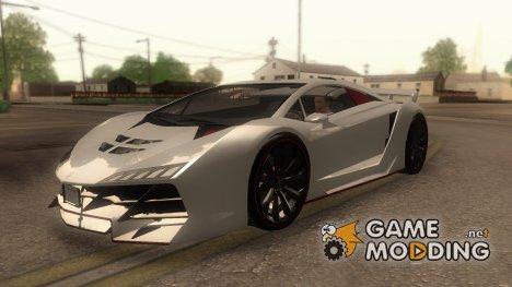 Pegassi Zentorno для GTA San Andreas