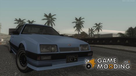 GTA IV Graphics 1.0 для GTA San Andreas