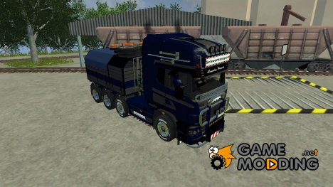 Scania R560 Templer Edition blue Plane for Farming Simulator 2013
