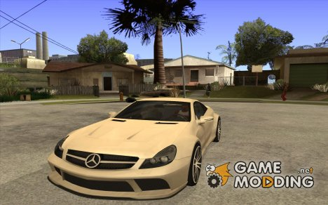 Mercedes-Benz SL65 AMG BS для GTA San Andreas