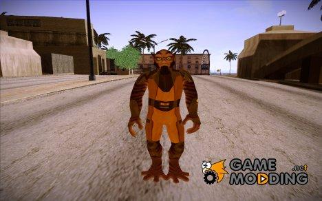 Star Wars Rebels Zeb для GTA San Andreas