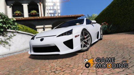 2010 Lexus LFA for GTA 5