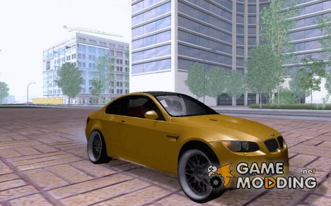 BMW M3 E92 Slammed for GTA San Andreas