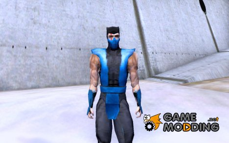 Sub Zero from MK4 for GTA San Andreas