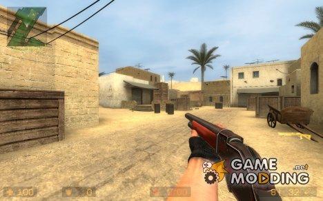 "F.A.N.G 66 ""Black Thorn"" lever shotgun для Counter-Strike Source"