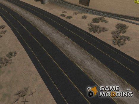 Новые качественные дороги для GTA San Andreas