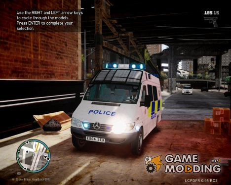 Mercedes-Benz Sprinter police для GTA 4