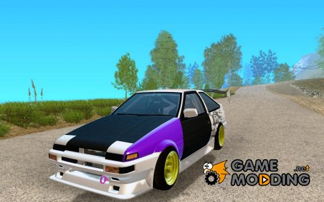 Toyota Corolla AE86 street drift for GTA San Andreas