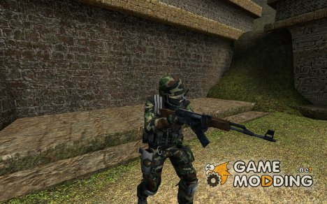 Jungle Camo CT for Counter-Strike Source
