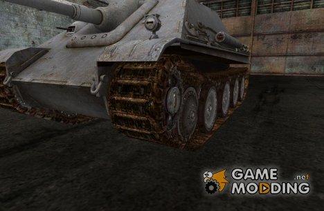 Замена гусениц для Jagdpanther