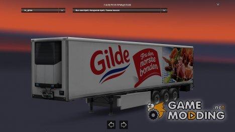 Gilde Trailer for Euro Truck Simulator 2