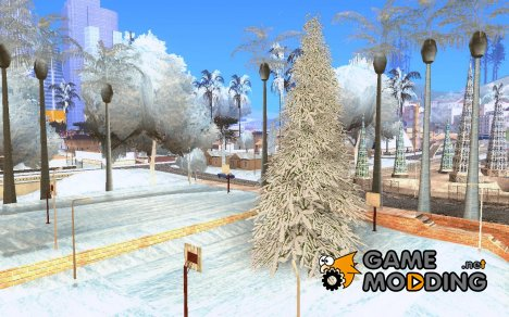Новый Год на Гроув Стрит for GTA San Andreas