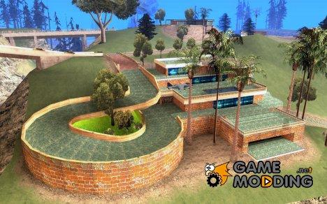 Новая вилла Мед-Догга for GTA San Andreas