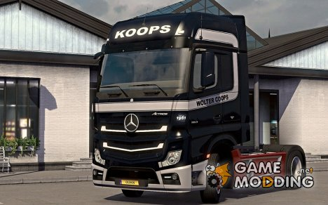 "Скин ""Wolter Koops"" для Mercedes Actros MP4 2014 for Euro Truck Simulator 2"