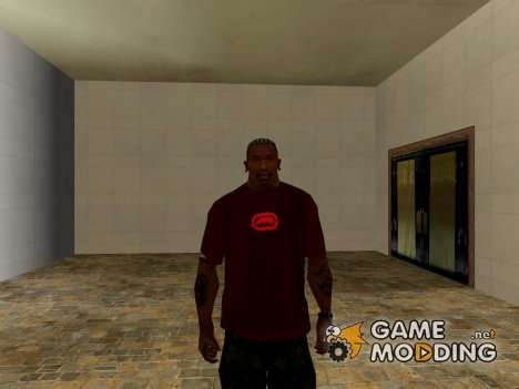Ecko Unltd T-shirt brown для GTA San Andreas