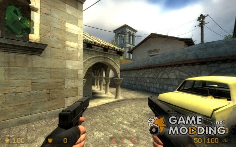 Glock18 - P90 для Counter-Strike Source