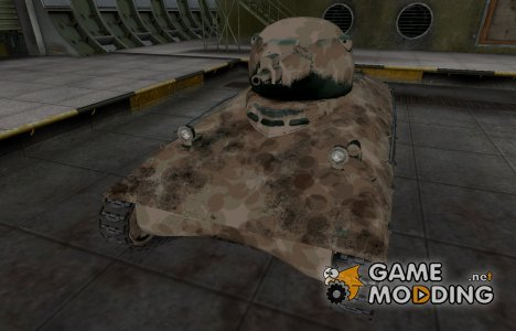 Французкий скин для AMX 40 для World of Tanks