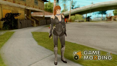 Dead Or Alive 5 Kasumi Ninja Black Outfit for GTA San Andreas