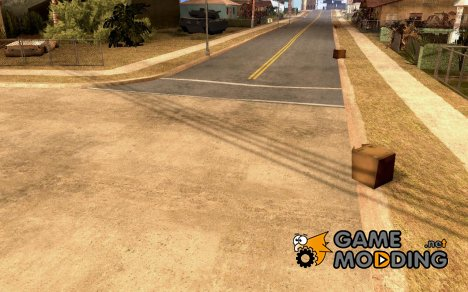 Sidewalks and Asphalt Textures для GTA San Andreas