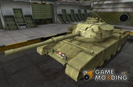 Шкурка для FV4202 для World of Tanks