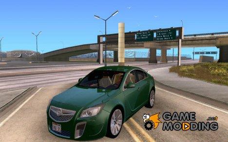 Opel Insignia 2010 for GTA San Andreas