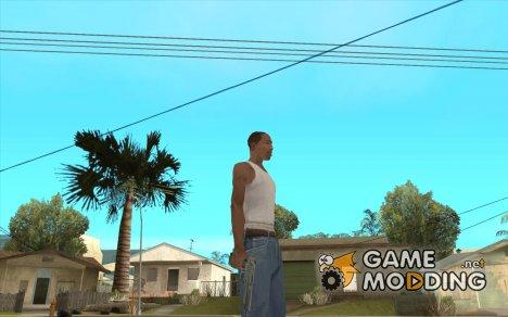 Desert Eagle Серебрянный for GTA San Andreas