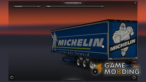 Прицеп Michelin for Euro Truck Simulator 2