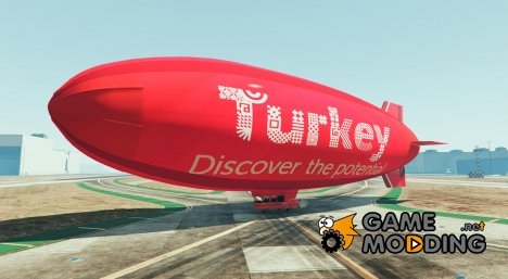 Turkey discover the potential - Blimp для GTA 5