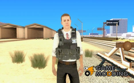 Скин из COD MW 2 Secret Service for GTA San Andreas