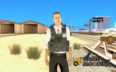 Скин из COD MW 2 Secret Service для GTA San Andreas