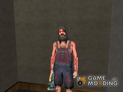 Маньяк в доме CJ для GTA San Andreas