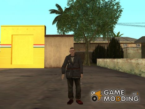 Бомж из GTA 4 EFLC для GTA San Andreas