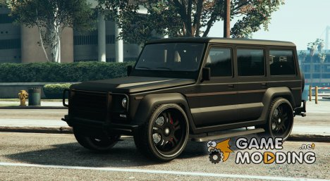 Mercedes Benz G 2015 v.10 for GTA 5