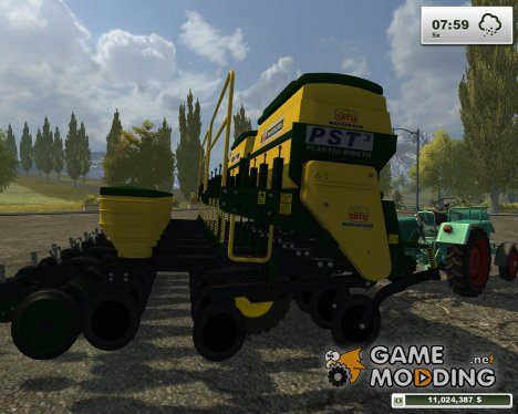 Plantadeira tatu PST3 для Farming Simulator 2013
