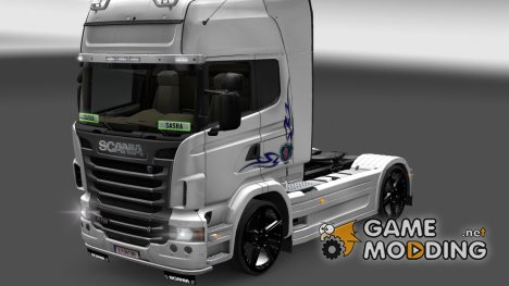 Скин для Scania R for Euro Truck Simulator 2