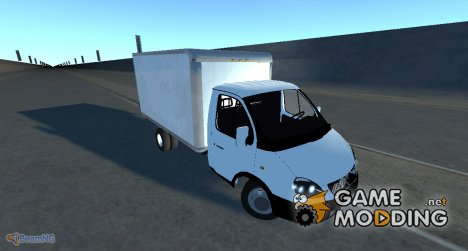 "ГАЗ-3302 ""ГАЗель"" for BeamNG.Drive"