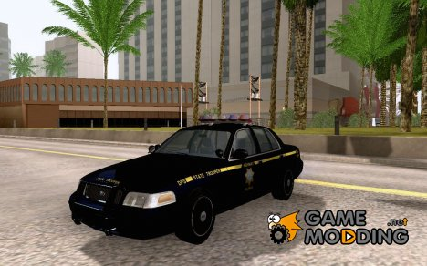 Ford Crown Victoria Nevada Police for GTA San Andreas