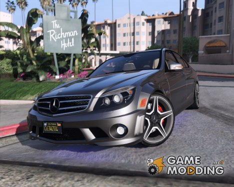 2014 Mercedes-Benz C63 AMG W204 1.0 for GTA 5