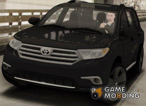 Toyota Highlander 2011 for GTA San Andreas