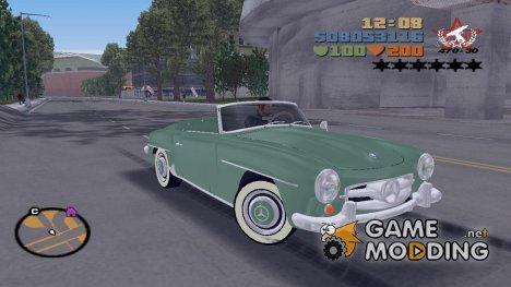 Mercedes-Benz 190 SL для GTA 3