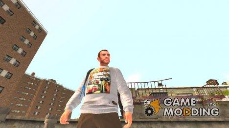 "Свитер ""GTA IV"" for GTA 4"