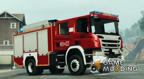Scania P360 Firetruck for GTA 5