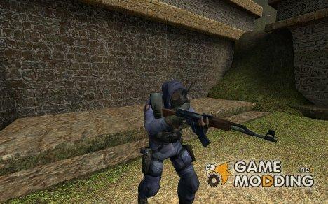 Default SAS hood up! для Counter-Strike Source