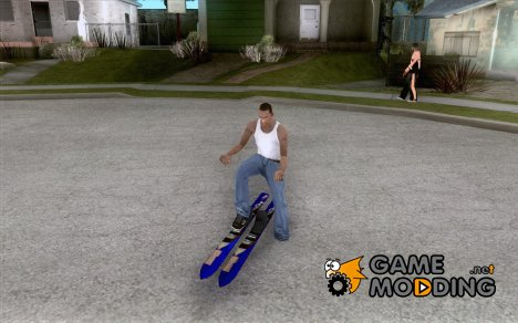 Ski - лыжи for GTA San Andreas